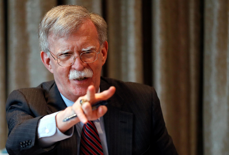 Cố vấn an ninh quốc gia Mỹ John Bolton. Ảnh chụp ngày 12/08/2019.