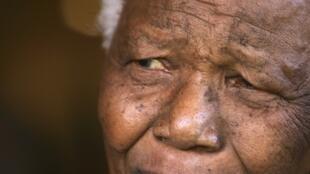Nelson Mandela en 2004.