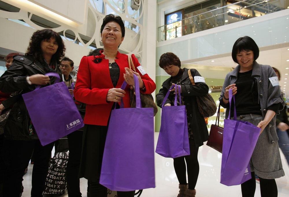 El turismo de compras es principalmente asiático.