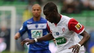 Salif Sané lors du match contre Troyes, le 16 avril.