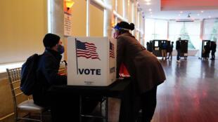 États-Unis - Vote - AP21085742745380