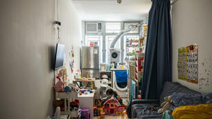 The number of Hong Kong households in poverty has soared during recent political turmoil and the coronavirus pandemic
