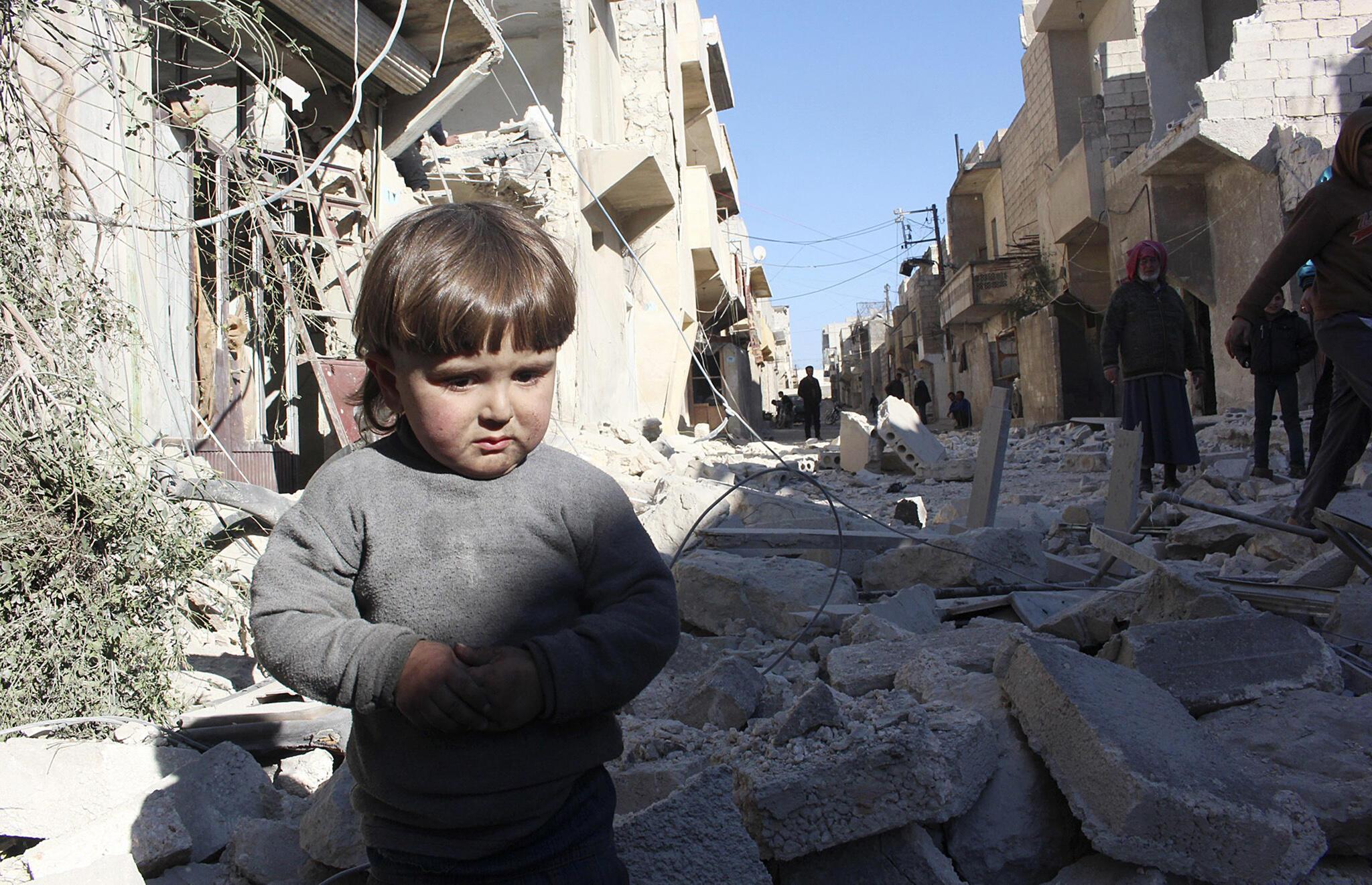 Aleppo, thành phố bị hủy diệt