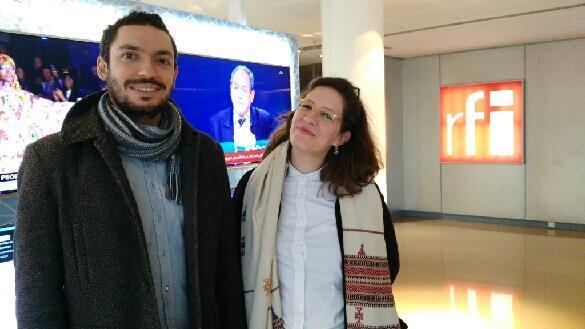 Raoni Vasconcelos e Carolina Macedo, do Instituto Alter Brasilis.