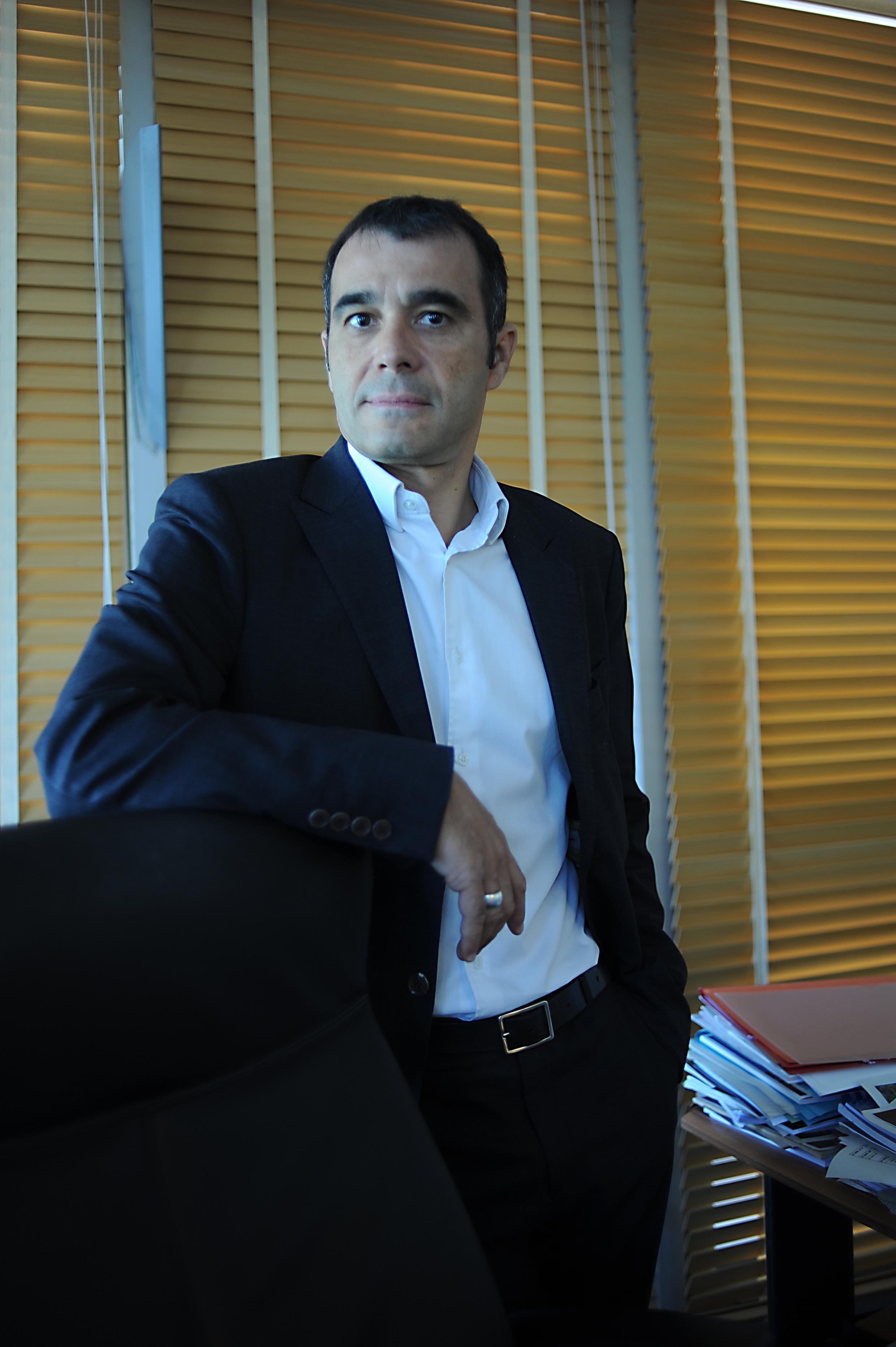 Ricardo Vázquez, el director del Hôtel des Arts de Toulon.