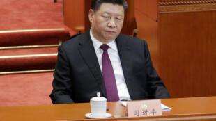 中国国家主席习近平三月三日在全国政协会议上