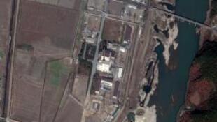 衛星拍攝的朝鮮寧邊核反應堆