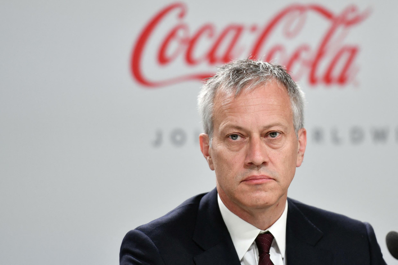 James Quincey, PDG de Coca-Cola