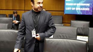 Reza Najafi, 伊朗駐國際原子能機構大使, 2018年6月4日維也納。