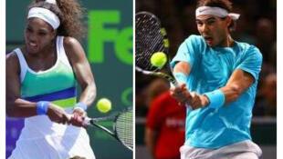 Serena Williams y Rafael Nadal son los deportistas del año para el diario francés L'Equipe.