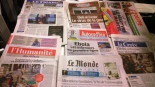 Diários franceses 17/10/2014