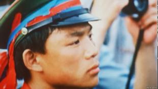 1989年參加天安門學生民主運動的張健