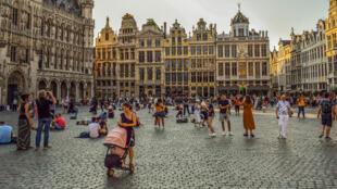 Bruxelles cherche à piétonniser une zone de 50 hectares dans la ville.
