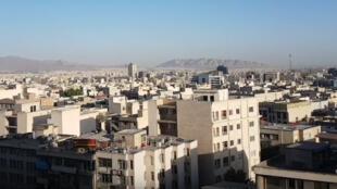 دورنمای شهر تهران