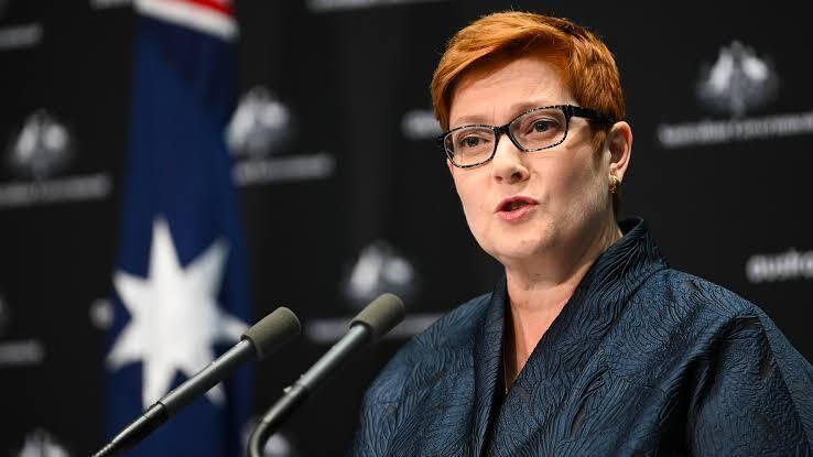 澳大利亞外長佩恩資料圖片