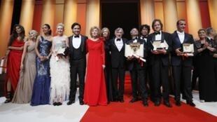 Les gagnants du palmarès du 64e Festival de Cannes