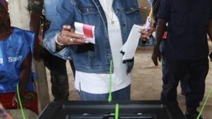 Ellen Johnson Sirleaf , Presidente cessante da Libéria