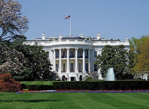 圖為美國總統府白宮