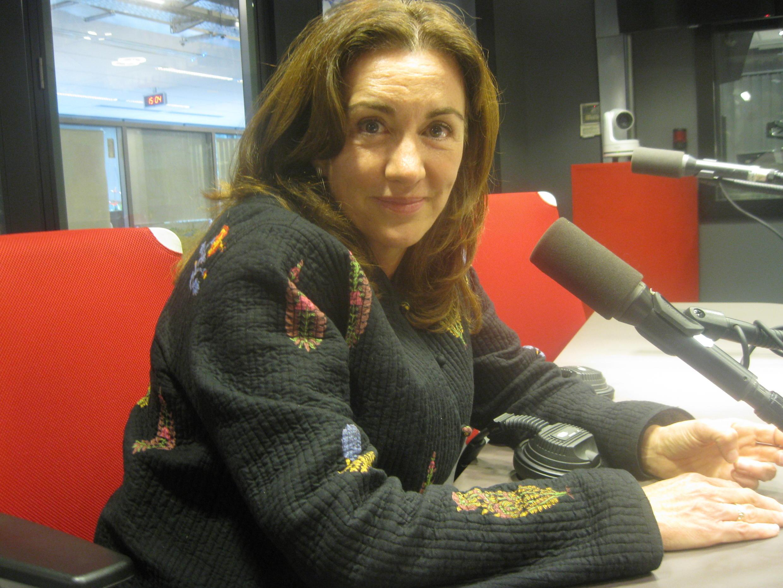 Rosa Beltrán en RFI.