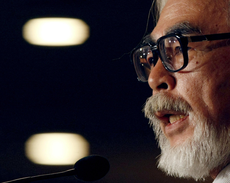 Hayao Miyazaki en 2008.