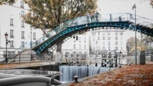 聖馬丁(le canal Saint-Martin)運河渠道