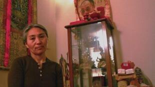 Tseyang Sihle rêve qu'un jour, la culture de ses ancêtres puisse prospérer dans le cœur de ses enfants.