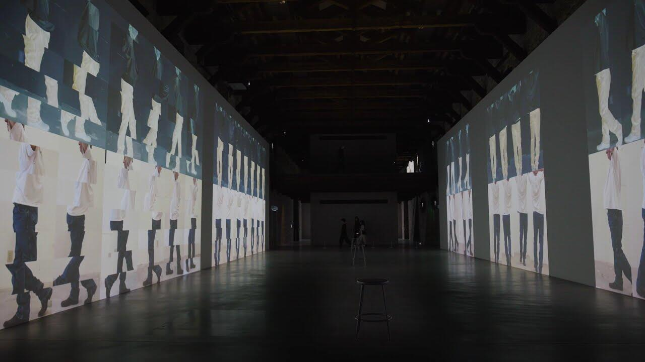 Venise - exposition - Bruce Naumann