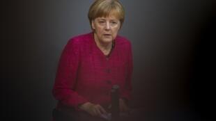 Ангела Меркель, Берлин, 1 сентября 2014 г.