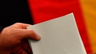 Eleições legislativas na Alemanha. 24 de Setembro de 2017.
