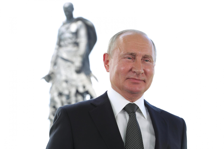 俄羅斯總統普京 2020年6月30日 資料照片