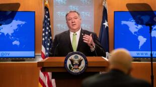 美国国务卿蓬佩奥资料图片