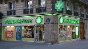 A pharmacy in France