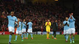 A l'aller, Manchester City a été battu par Liverpool.