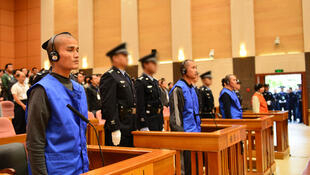 """Três pessoas foram condenadas à morte em outubro em um julgamento por """"terrorismo"""" na região de Xinjiang."""