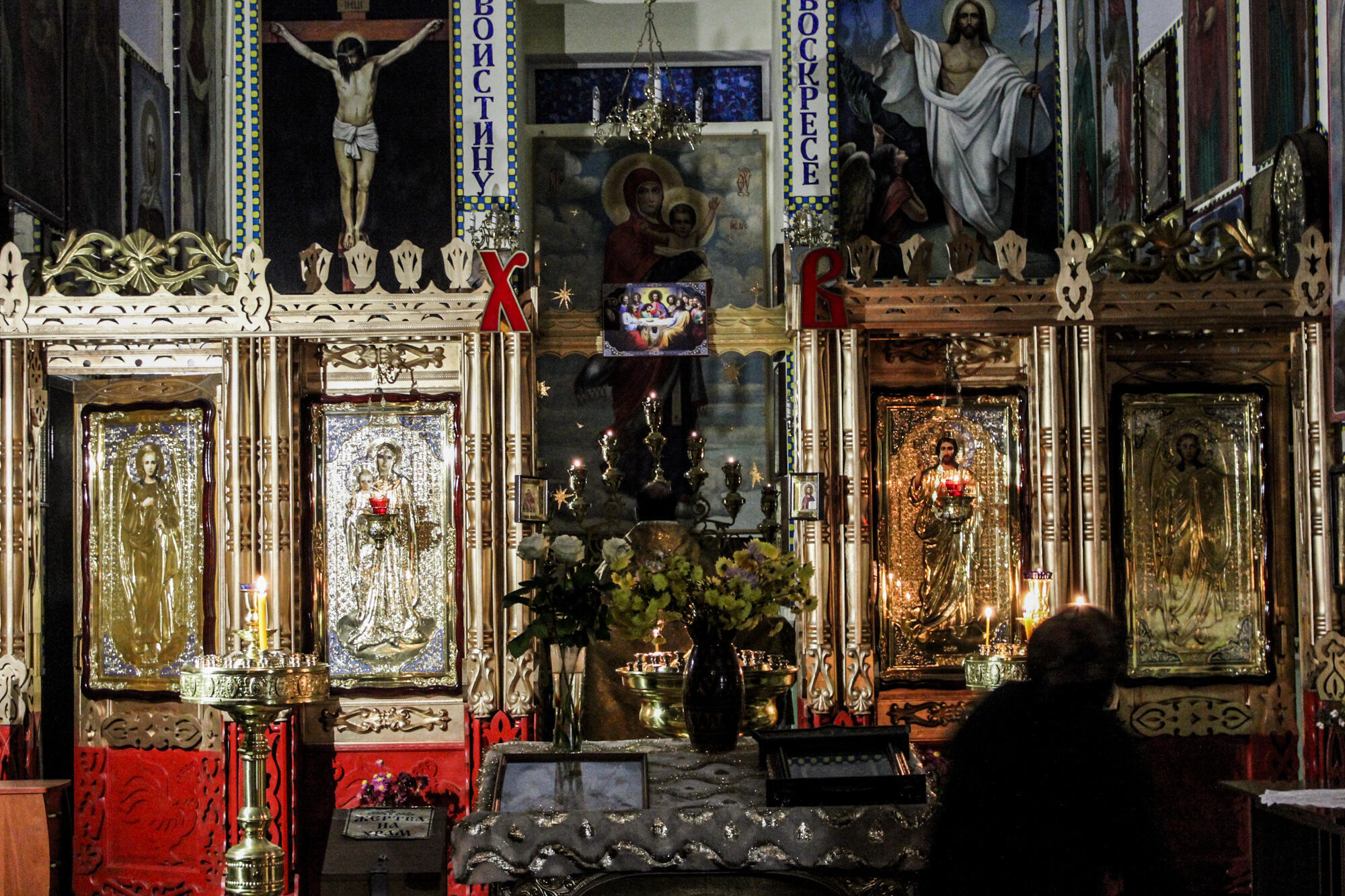 Служба в Свято-Троицком храме – два раза в день.