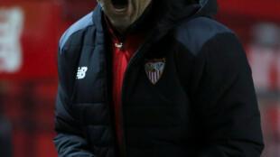 Jorge Sampaoli, ex entrenador de la selección argentina de fútbol.
