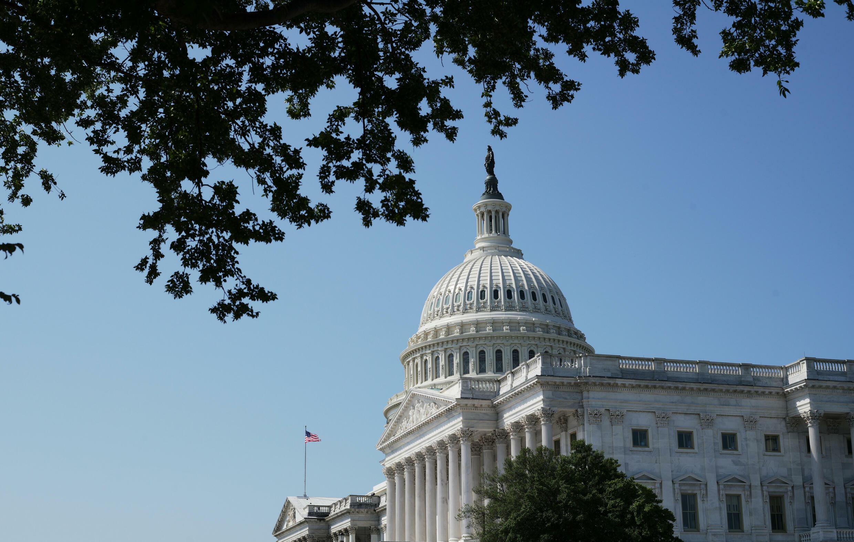 El Capitolio, sede del Congreso de Estados Unidos en Washington D.C., el 8 de agosto de 2021