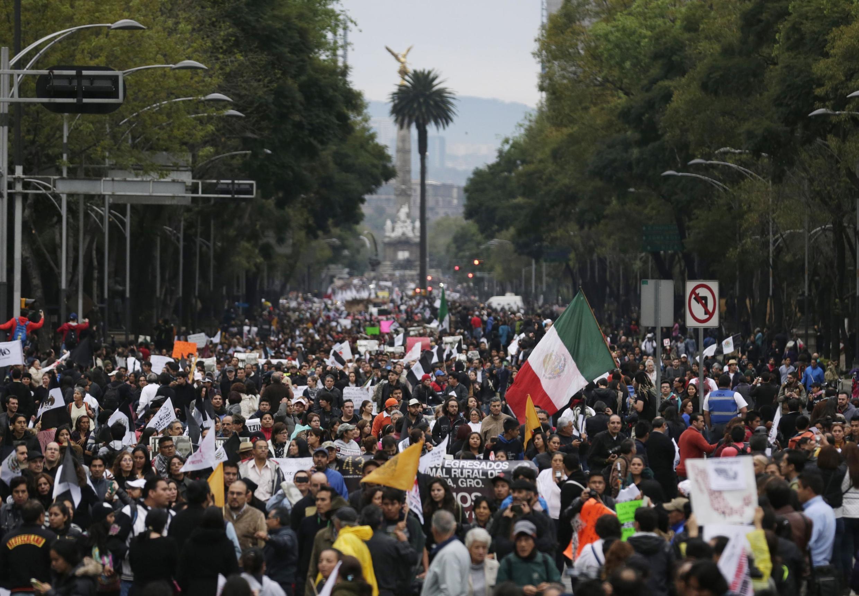 Mexico, le 20 novembre 2014.