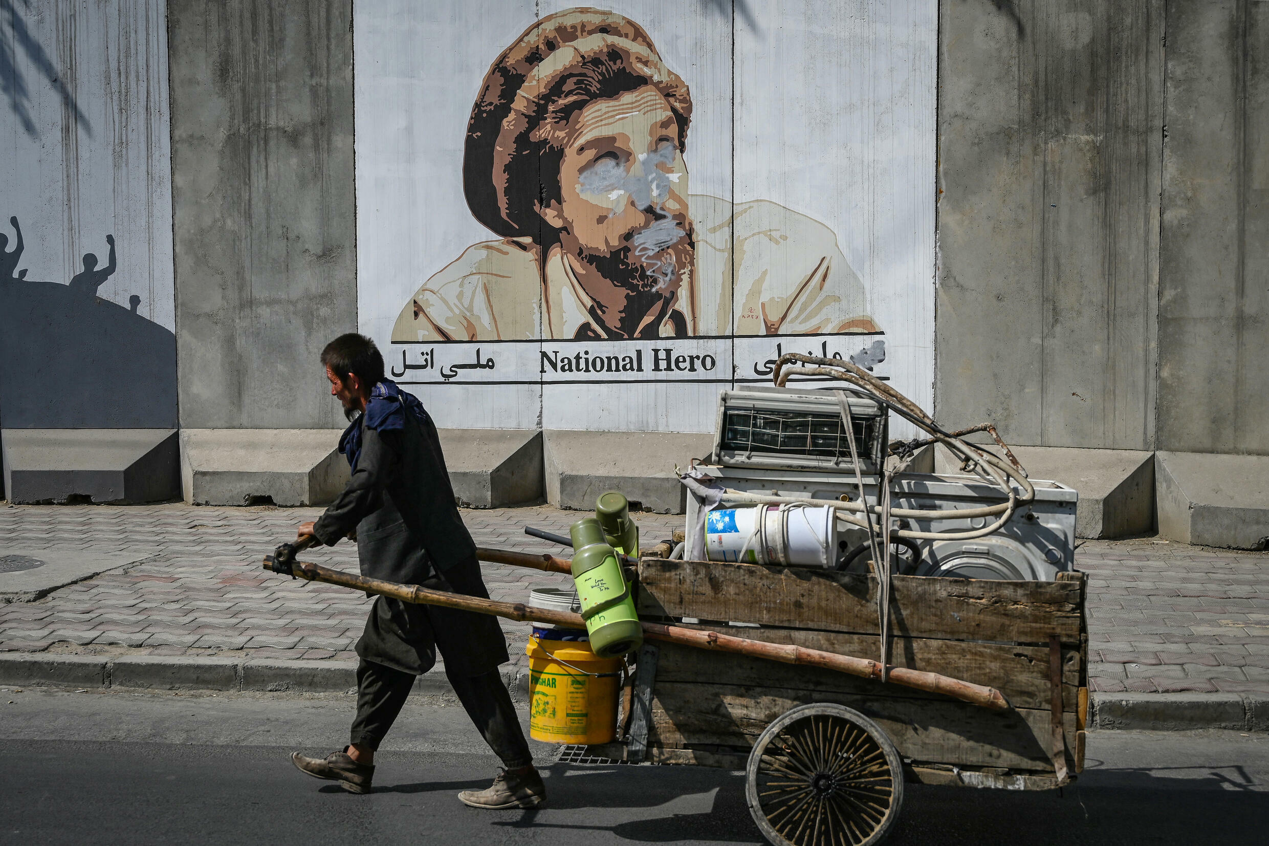 Afghanistan's economy is almost entirely reliant on aid, and the chaos of the past month has crippled cash flow