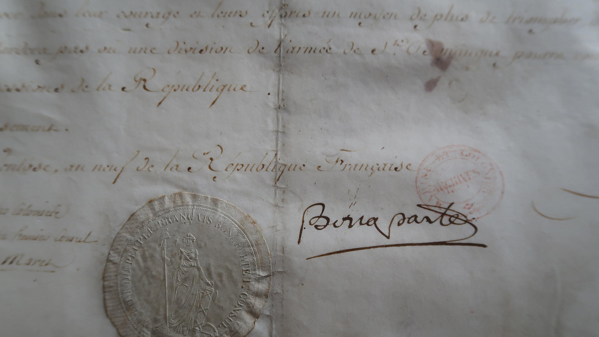 Document Napoléon.