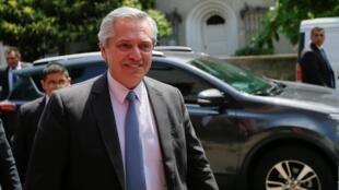 Alberto Fernandez, el pasado 10 de diciembre