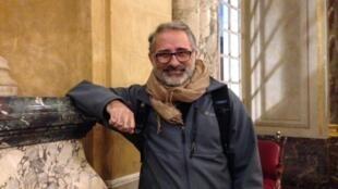 Cineasta pernambucano Marcelo Gomes em Toulouse, onde acontece o Festival Cinélatino.