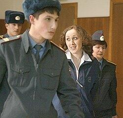 Зара Муртазалиева в Мосгорсуде - 2005 год