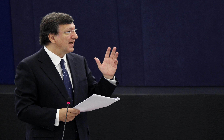 Le président de la Comission européenne, José Manuel Barroso.