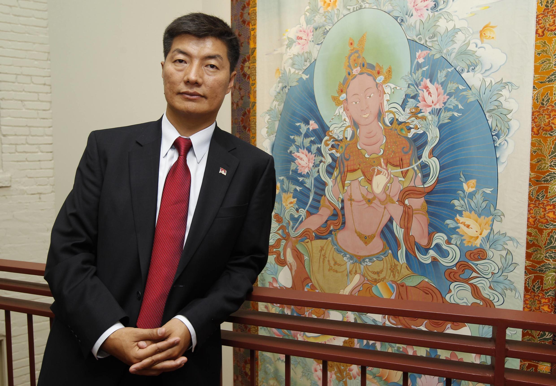 Lobsang Sangay é o novo primeiro-ministro dos tibetanos no exílio.