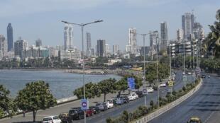 Une vue générale de la ville de Bombay où le théâtre où s'est produite Agrima Joshua a été vandalisé (image d'illustration).