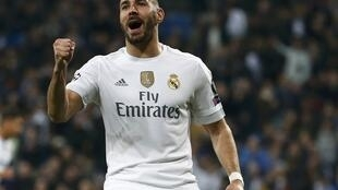 Karim Benzema scored Real Madrid's winner at Sporting Portugal.