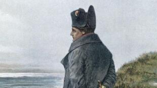 Napoléon à Saint-Hélène.
