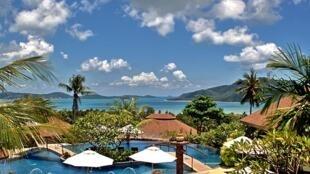 The popular Thai tourist destination of Phuket