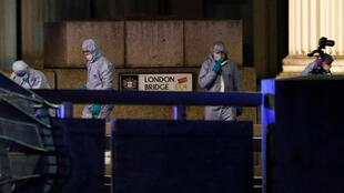 Police sealed off the area around London Bridge following the terrorist attack that claimed two lives to search for explosives.